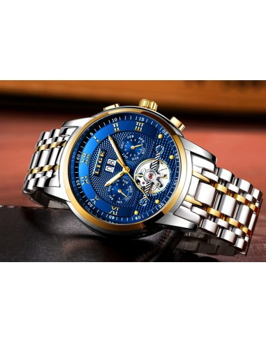 Ceas LG55 Lige Germany Automatic Blue